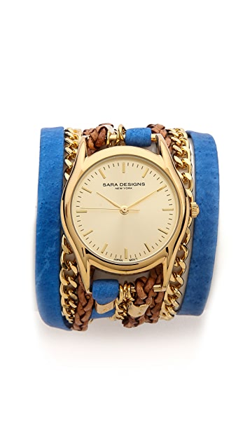 Sara Designs Maasai Wrap Watch