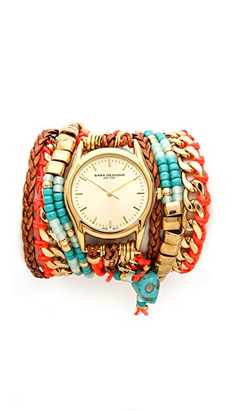 Sara Designs Maasi Native Watch