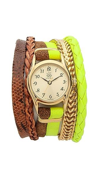 Sara Designs Multi Strand Magnet Watch