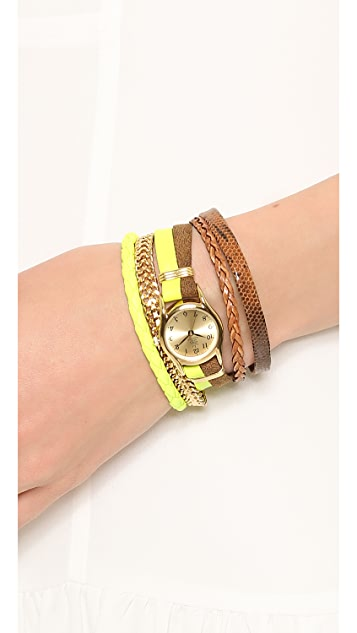 Sara Designs Multi Strand Magnet Watch
