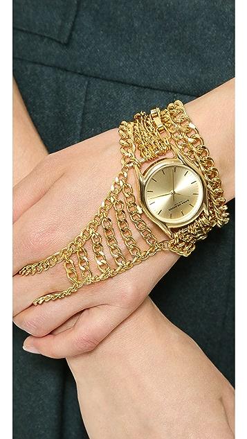 Sara Designs Magnetic Hand Chain Watch