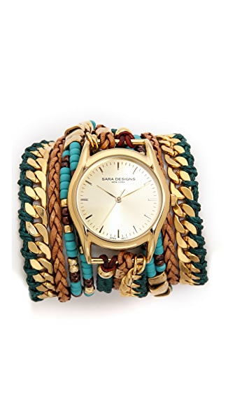 Sara Designs Massai Wrap Watch