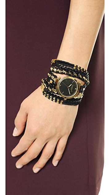 Sara Designs Pyramid Wrap Watch