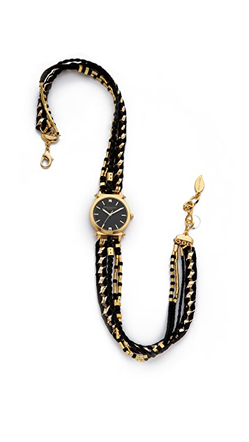 Sara Designs Golden Wrap Watch