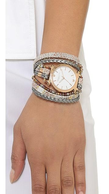 Sara Designs Tye Dye Wrap Watch