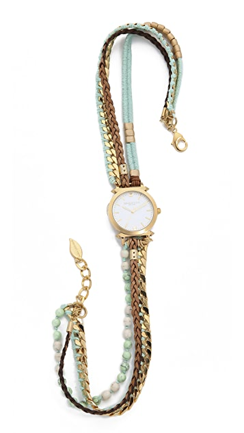 Sara Designs Macrame Wrap Watch