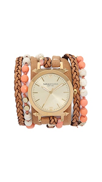 Sara Designs Prima Wrap Watch