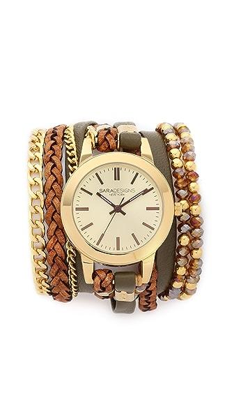 Sara Designs Elle Wrap Watch