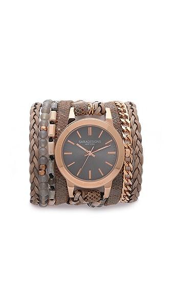 Sara Designs Farrah Wrap Watch