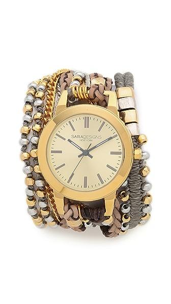 Sara Designs Hermosa Wrap Watch