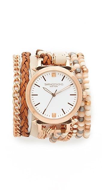 Sara Designs Caty Wrap Watch