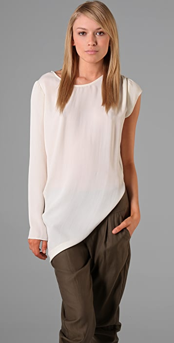 sass & bide Don't Pretend Draped Top