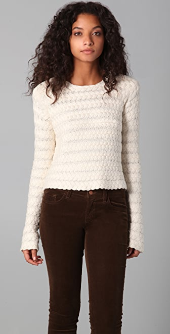 sass & bide Nothing To Prove Cropped Sweater