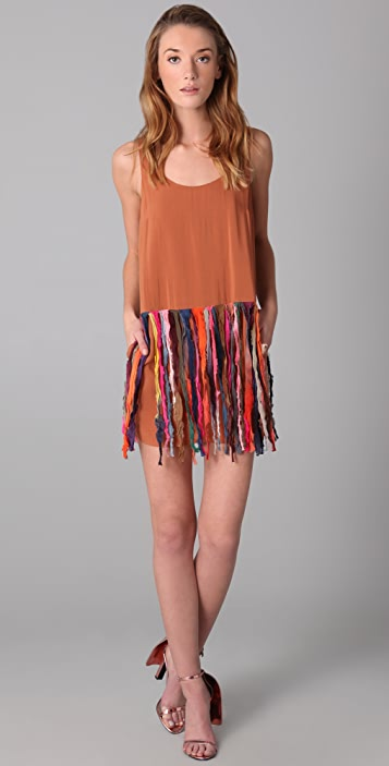 sass & bide The Calm Dress with Fringe