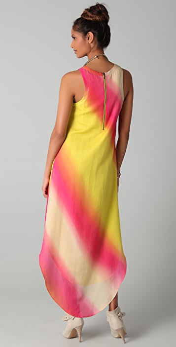 sass & bide Secret Place Sunburst Print Dress