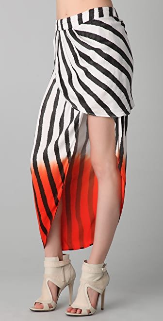 sass & bide Where We Started Striped Skirt