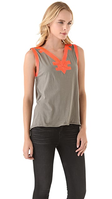 sass & bide The Tempest Embroidered Tank