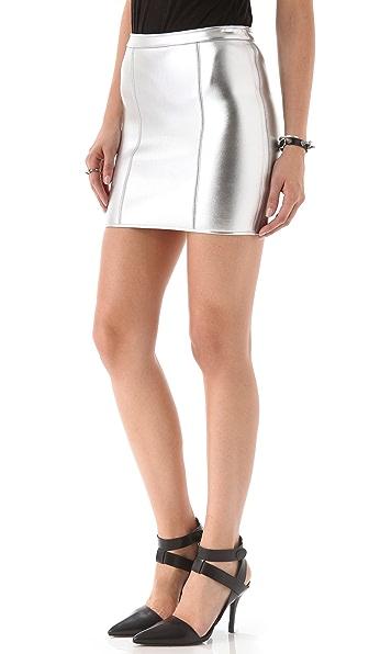 sass & bide Star Turn Neoprene Skirt