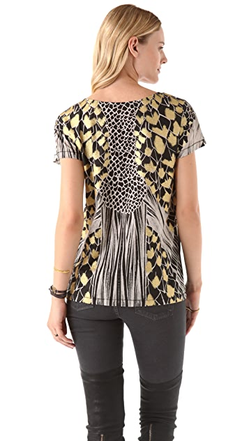 sass & bide Shades Of Silver Tee