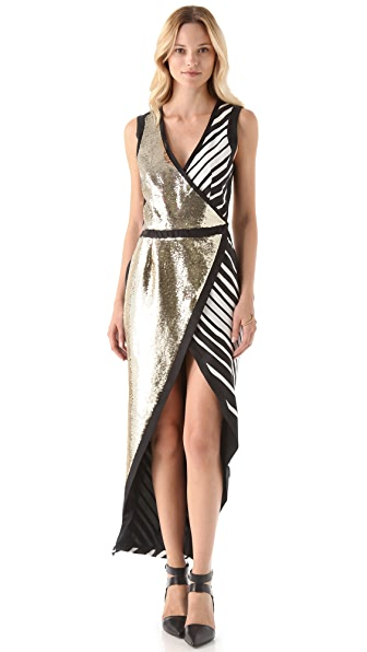 sass & bide Letter Crossover Dress