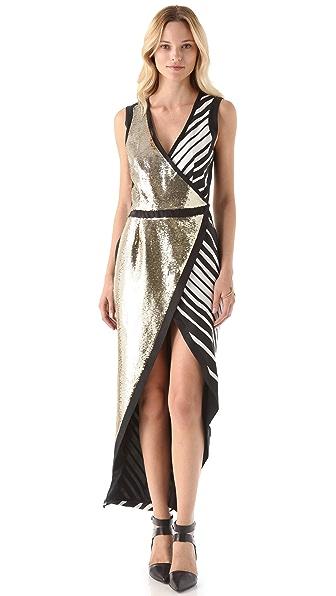 sass & bide Letter Crossover Dress