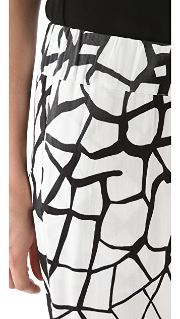 sass & bide The Gospel Printed Pants