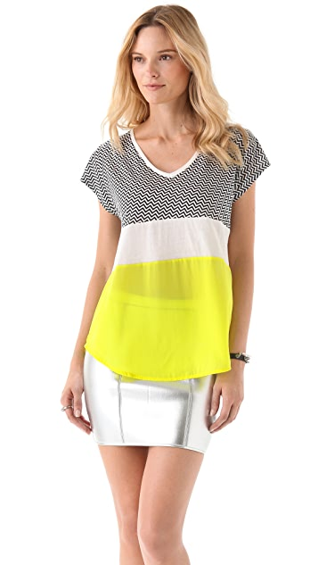 sass & bide We Own The Night Tee