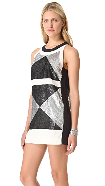 sass & bide The Revene Sequin Dress
