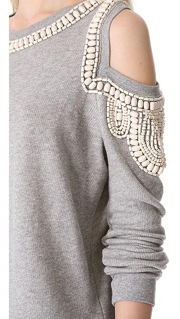 sass & bide The Fortified Embellished Sweatshirt