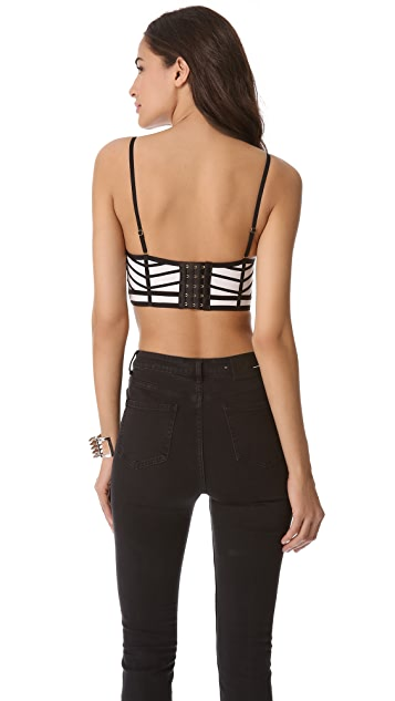 sass & bide Days of Night Bustier
