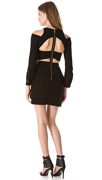 sass & bide Burst the Bubble Cutout Dress