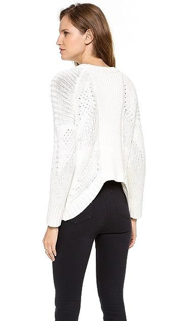 sass & bide Addiction to Love Textured Pullover