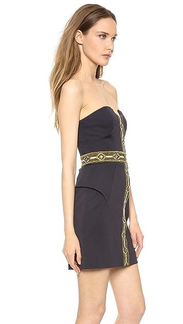 sass & bide Self Service Strapless Dress