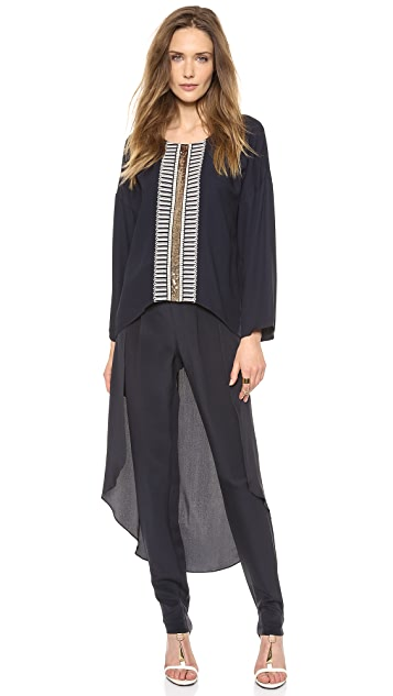 sass & bide On the Spot Embellished Blouse
