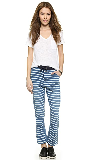 sass & bide Facing North Striped Pants