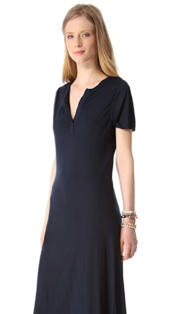 Sauce Heart Henley Dress