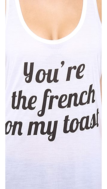 Sauce French Toast Tank