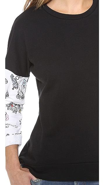 Sauce Doodle Sleeves Sweatshirt