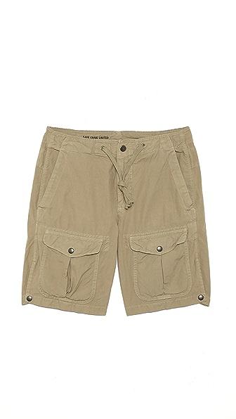 Save Khaki Explorer Shorts