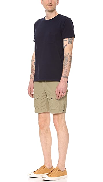 Save Khaki Explorer Shorts