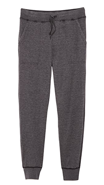 Save Khaki Pointelle Sweatpants