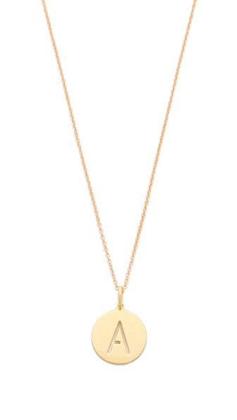 Sarah Chloe Eva Engraved Pendant Necklace