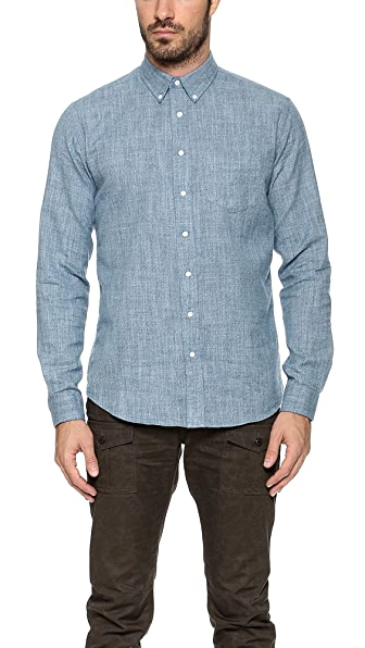 Schnayderman's Leisure Mouline Indaco Shirt