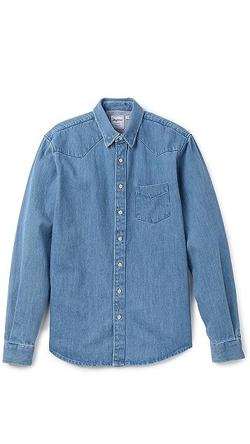 Schnayderman's Western Denim Shirt