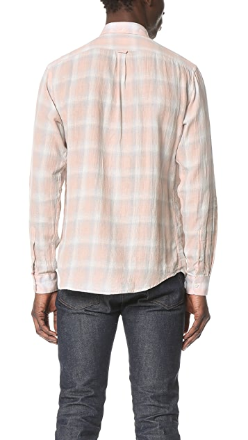Schnayderman's Leisure Faded Large Check Shirt