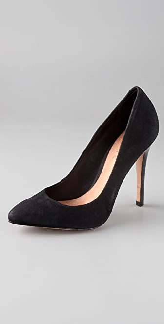 Schutz High Heel Suede Pumps