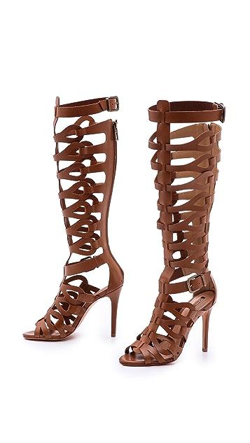 Schutz Eirini Cutout Tall Gladiator Sandals