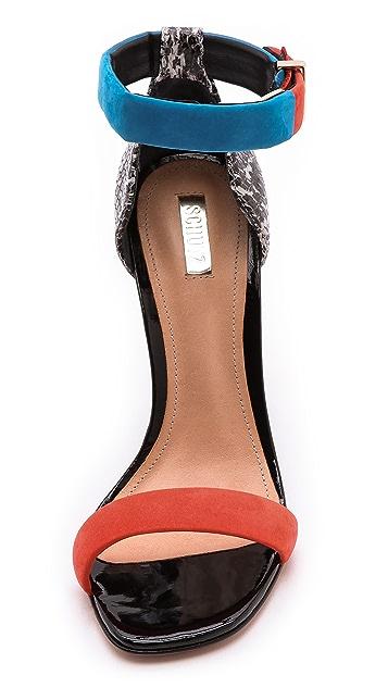 Schutz Enyd Ankle Strap Sandals