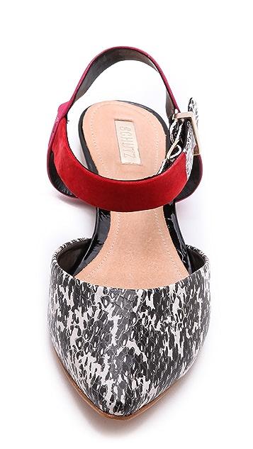 Schutz Fasai Flat Sandals