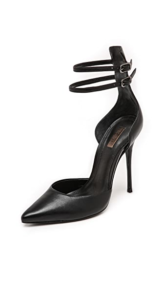 Schutz Mirrela Ankle Strap Pumps
